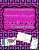 Where is Mississippi Geographic Hierarchy Map