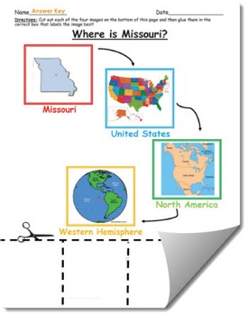 Where is Missouri Geographic Hierarchy Map