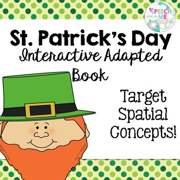 St. Patrick's Day Interactive Book with Spatial Concepts