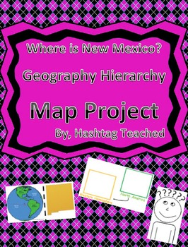 Where is New Mexico Geographic Hierarchy Map