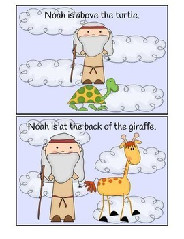 Where is Noah? Preposition Booklet in Full Color