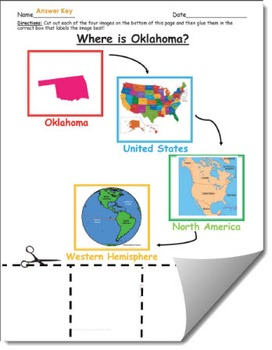 Where is Oklahoma Geographic Hierarchy Map
