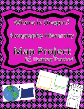 Where is Oregon Geographic Hierarchy Map
