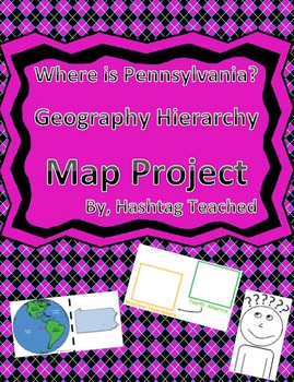 Where is Pennsylvania Geographic Hierarchy Map