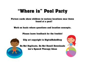 """Where"" is Pool Party for Locations and Questions"