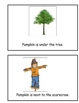 Where is Pumpkin? Book of Prepositions