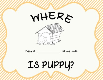 Where is Puppy? Directional Word Review