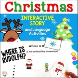 Where is Rudolph? Christmas Prepositions, Categories, & Verbs