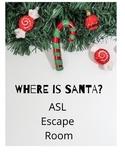 Where is Santa? ASL Escape Room Around the World