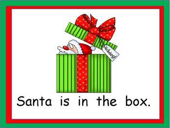 Where is Santa- Christmas Kindergarten Shared Reading PowerPoint