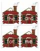 Where is Santa Hiding ~ A Sight Word Game