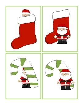 Christmas Activity - Where is Santa?  Song Activity