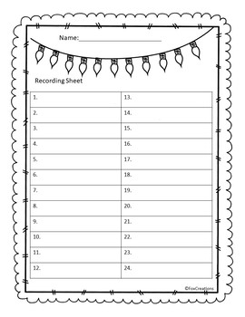 Where is Santa? States and Capitals Task Cards! No Prep, Print and Go