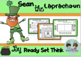 K Where is Sean the Leprechaun? (Ebook then color by S blends)