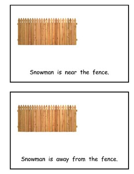 Where is Snowman? Book of Prepositions