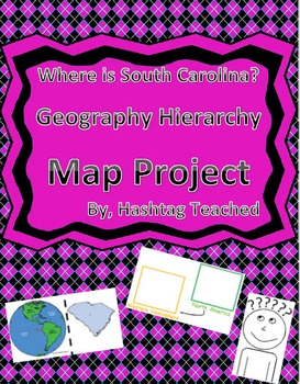 Where is South Carolina Geographic Hierarchy Map