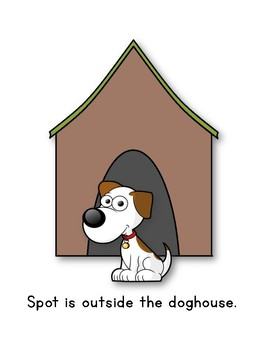 Where is Spot? {positional words}