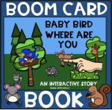 Baby Bird Where are You? BOOM Book (Boom Card Activity)  Distance Learning