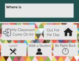 Where is Teacher