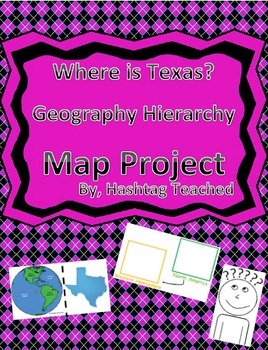 Where is Texas Geographic Hierarchy Map