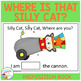 Preposition Where is That Silly Cat? Book