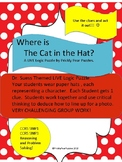 Logic Puzzle, Read Across America,  Where is the Cat ?
