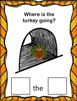 Where is The Turkey? A Preposition Adapted Book