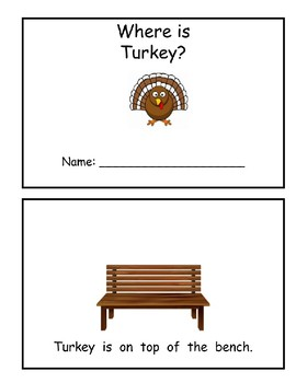 Where is Turkey? Book of prepositions