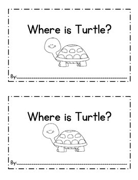 Where is Turtle Emergent Reader