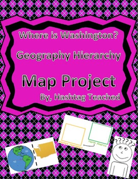 Where is Washington Geographic Hierarchy Map