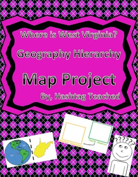 Where is West Virginia Geographic Hierarchy Map