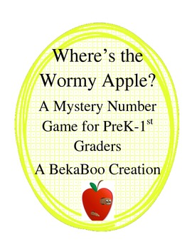 Where is Wormy Apple:  A Mystery Number Game for PreK-1st Graders