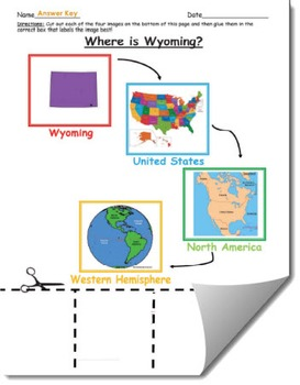 Where is Wyoming Geographic Hierarchy Map