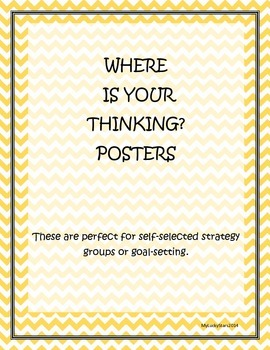 Where is Your Thinking? (posters)