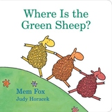 Where is green sheep? book PPT
