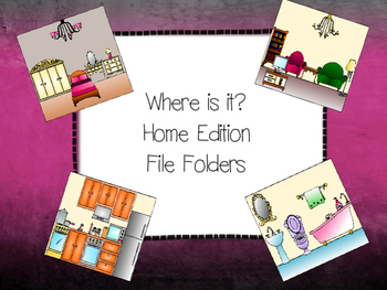Where is it? Home Edition File Folder