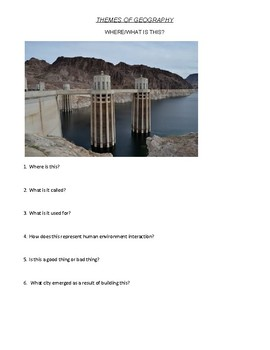 Where is it?: Using Photos to Introduce Geography's Five Themes