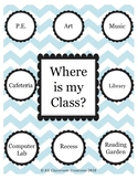 Where is my Class?