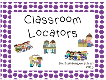 Where is my class? Classroom Locator Pages