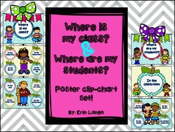 Where is my class? & Where are my students? classroom post