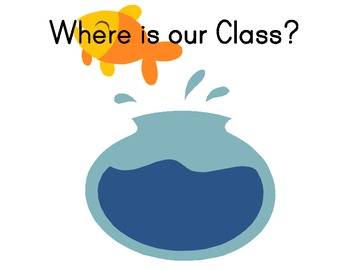 Where is our Class - Sign for Door