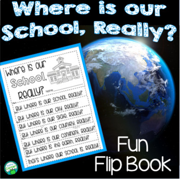 Where is our School? A Flip Book for Mapping our Location
