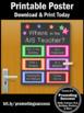 Where is the AIS Teacher Door Sign, Academic Intervention Services