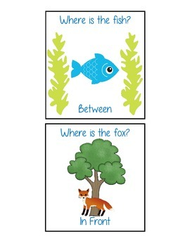 Where is the Animal? Spatial Concept Cards
