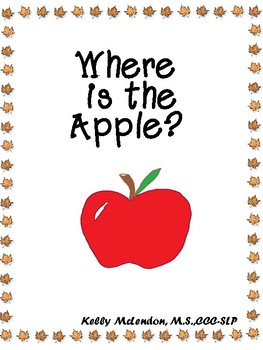 Where is the Apple? - Speech & Language Therapy