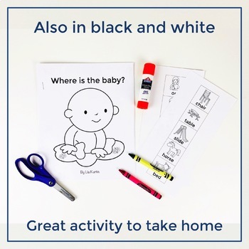 Where is the Baby? - A Core Word Interactive Book
