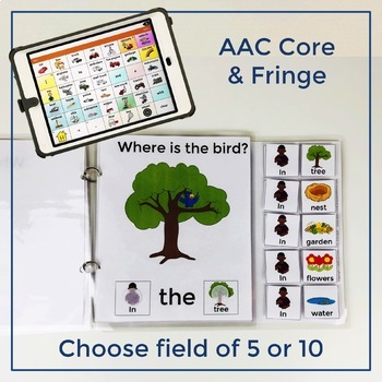 Where is the Bird? - A Core Word Interactive Book