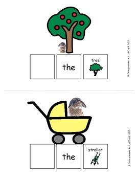 Where is the Bunny? Adapted Book, Prepositions