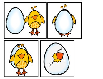 Where is the Chick?  (A book and pocket chart activity)