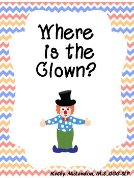 Where is the Clown? - Speech & Language Therapy